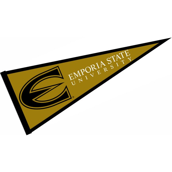 ESU Hornets Pennant consists of our full size sports pennant which measures 12x30 inches, is constructed of felt, is single sided imprinted, and offers a pennant sleeve for insertion of a pennant stick, if desired. This ESU Hornets Pennant Decorations is Officially Licensed by the selected university and the NCAA.