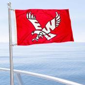 EWU Eagles Boat and Mini Flag