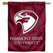 Fairmont State Fighting Falcons Double Sided House Flag