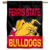 Ferris State FSU Bulldogs Banner Flag