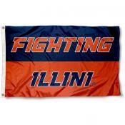 Fighting Illini Flag