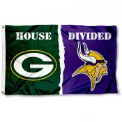 Flag for Divided House - Vikings vs. Packers