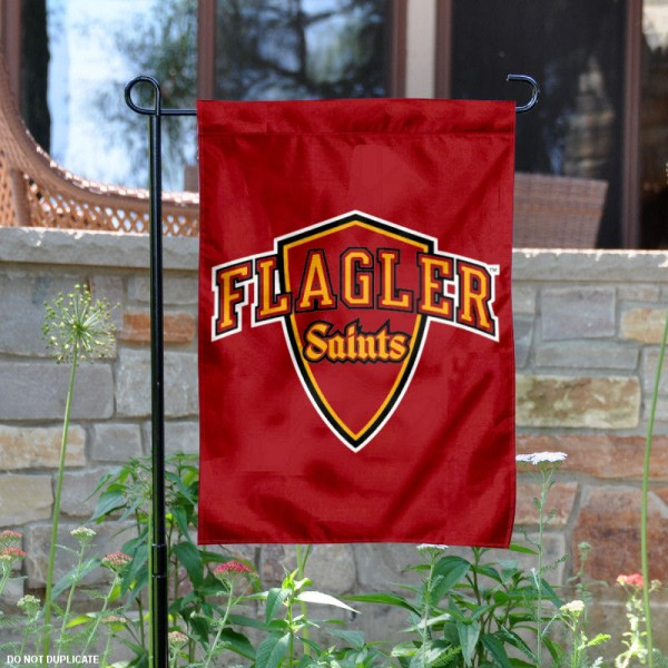 Flagler College Saints Logo Garden Flag is 13x18 inches in size, is made of 2-layer polyester with liner, screen printed athletic logos and lettering. Available with Same Day Overnight Express Shipping, Our Flagler College Saints Logo Garden Flag is officially licensed and approved by the university, college and the NCAA.