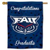 Florida Atlantic Owls Congratulations Graduate Flag