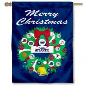 Florida Atlantic Owls Holiday Flag