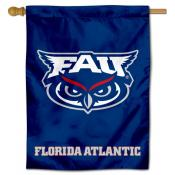 Florida Atlantic Owls Logo Banner Flag