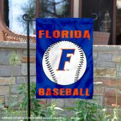 Florida Gators Baseball Team Garden Flag