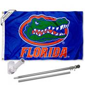 Florida Gators Blue Flag Pole and Bracket Kit
