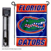Florida Gators Garden Flag and Pole Stand Holder