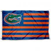 Florida Gators Striped Flag