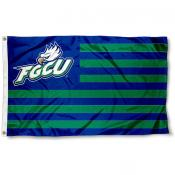 Florida Gulf Coast Eagles Stripes Flag