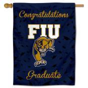 Florida International Panthers Congratulations Graduate Flag