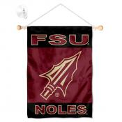 Florida State Seminoles Banner with Suction Cup