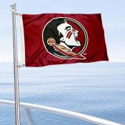 Florida State Seminoles Boat and Mini Flag