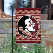 Florida State Seminoles Chevron Garden Flag