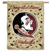 Florida State Seminoles Congratulations Graduate Flag