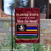 Florida State Seminoles Essential Services Garden Flag
