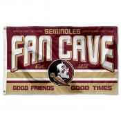 Florida State Seminoles Fan Man Cave Game Room Banner Flag