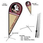 Florida State Seminoles Feather Flag Kit