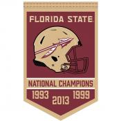 Florida State Seminoles Football National Champions Banner