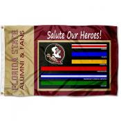 Florida State Seminoles Frontline Workers Flag