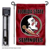 Florida State Seminoles Garden Flag and Stand