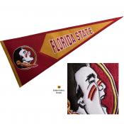Florida State Seminoles Genuine Wool Pennant