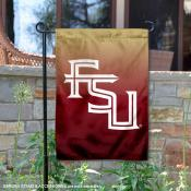 Florida State Seminoles Gradient Ombre Logo Garden Flag