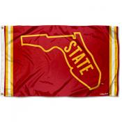 Florida State Seminoles Throwback Vault Logo Flag