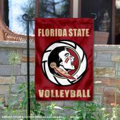 Florida State Seminoles Volleyball Team Garden Flag