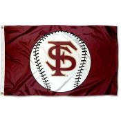 Florida State University Baseball Flag