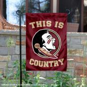 Florida State University Country Garden Flag