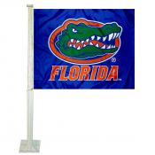 Florida UF Gators Blue Car Window Flag