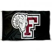Fordham Rams Black Flag