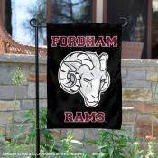 Fordham Rams Black Garden Flag