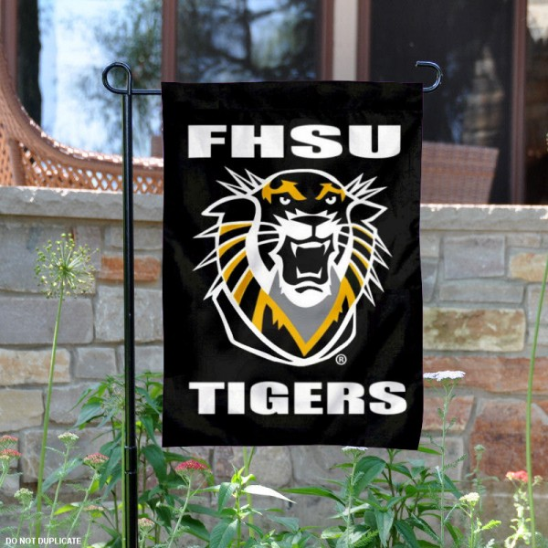 Fort Hays State Garden Flag is 13x18 inches in size, is made of 2-layer polyester, screen printed Fort Hays State athletic logos and lettering. Available with Same Day Express Shipping, Our Fort Hays State Garden Flag is officially licensed and approved by Fort Hays State and the NCAA.