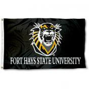 Fort Hays State Tigers Logo Outdoor Flag