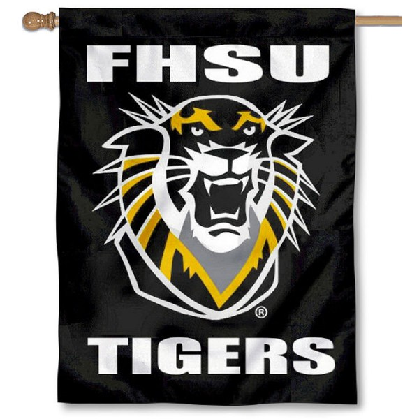 Fort Hays State University Banner Flag is a vertical house flag which measures 30x40 inches, is made of 2 ply 100% polyester, offers dye sublimated NCAA team insignias, and has a top pole sleeve to hang vertically. Our Fort Hays State University Banner Flag is officially licensed by the selected university and the NCAA.