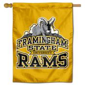 Framingham State Rams Double Sided House Flag