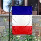 France Double Sided Garden Flag