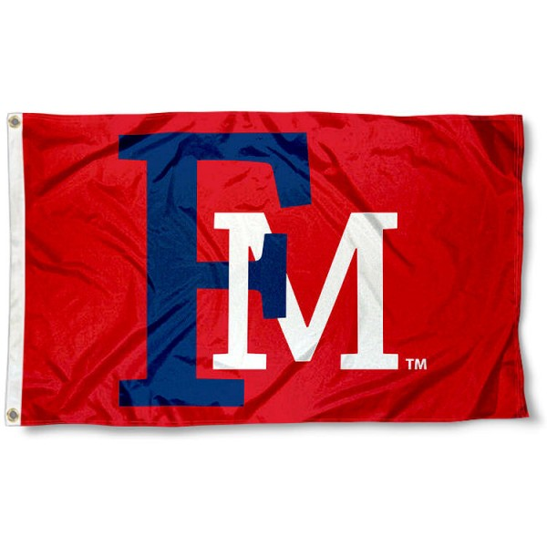 Francis Marion Patriots Flag measures 3x5 feet, is made of 100% polyester, offers quadruple stitched flyends, has two metal grommets, and offers screen printed NCAA team logos and insignias. Our Francis Marion Patriots Flag is officially licensed by the selected university and NCAA.