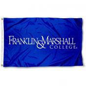 Franklin & Marshall College Diplomats Logo Flag
