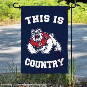 Fresno State Bulldogs Country Garden Flag