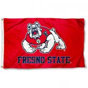Fresno State FSU Bulldogs 3x5 Flag