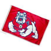 Fresno State University Mini Flag