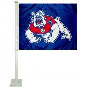 FSU Bulldogs Car Window Flag