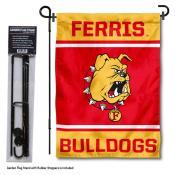 FSU Bulldogs Garden Flag and Pole Stand Holder