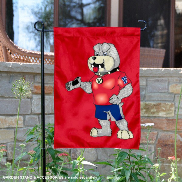 FSU Bulldogs Victor E Garden Flag is 13x18 inches in size, is made of 2-layer polyester, screen printed university athletic logos and lettering. Available with Same Day Express Shipping, our FSU Bulldogs Victor E Garden Flag is officially licensed and approved by the university and the NCAA.