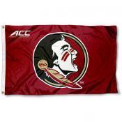 FSU Seminoles ACC Logo Flag