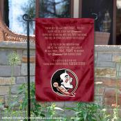 FSU Seminoles Fight Song Garden Flag